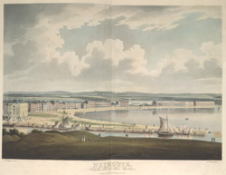 Weymouth from the Look out, taken May 1812
